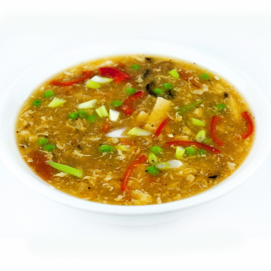 14. Vegetarian Hot & Sour Soup