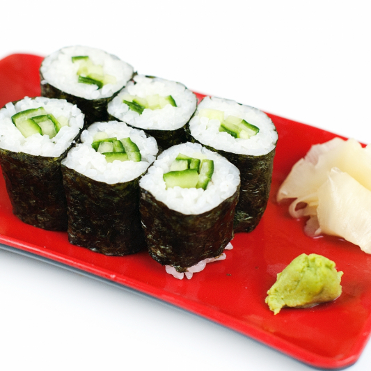 58. Cucumber Maki (6 pcs)