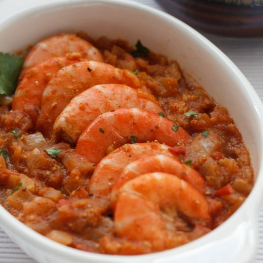 D05. Prawn in Chili and Garlic Sauce