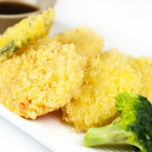 T9. Assorted Vegetable Tempura Appetizer (6 pcs)