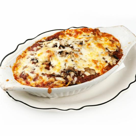 Large Baked Vegetarian Lasagna or Spaghetti