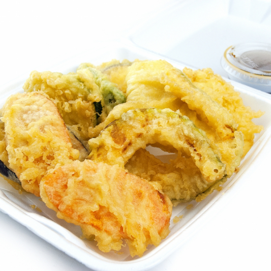 18. Vegetable Tempura (7 pcs)