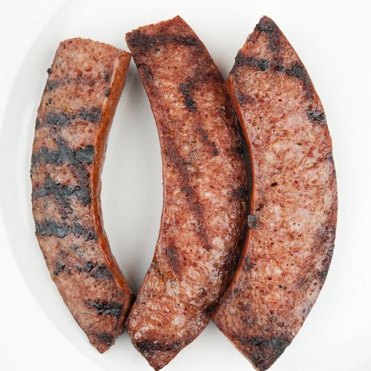 (33) Minute Steak & Sausage __