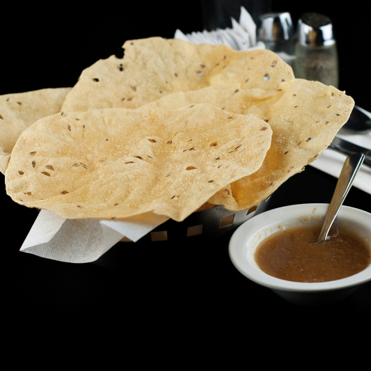 Papadum (2 pcs)