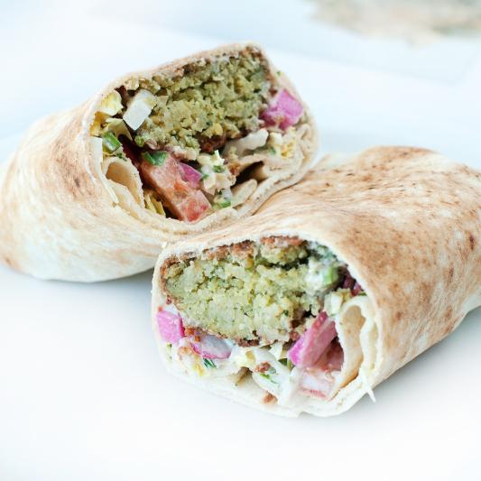 Falafel Pita Lunch Special