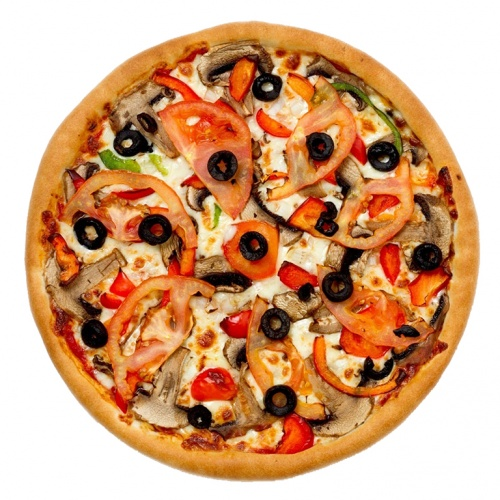 Vegetable Venture Pizza