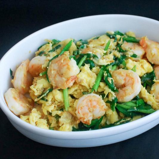 39. Shrimps with Scrambled Egg