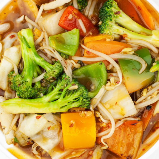 Chop Suey Dishes