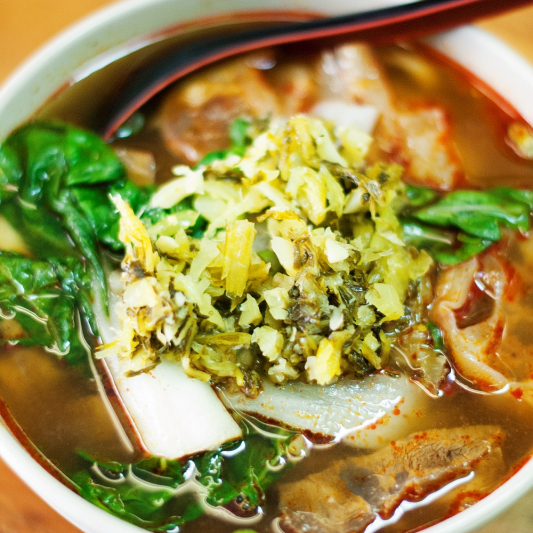 3-4 Spicy Pork Noodle Soup