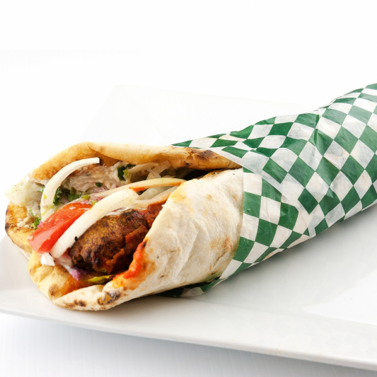 Wrap (Chicken, beef or lamb)