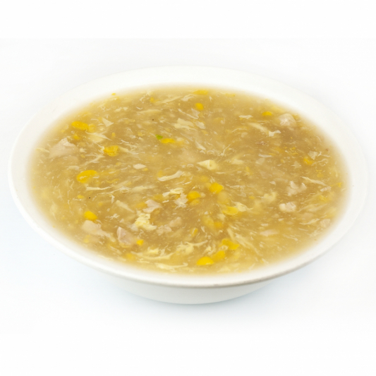 31. Cream Corn Soup with Chicken