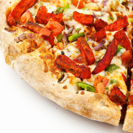 Tandoori or BBQ Chicken Pizza