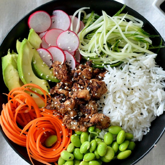Veggies Delight Rice Bowl