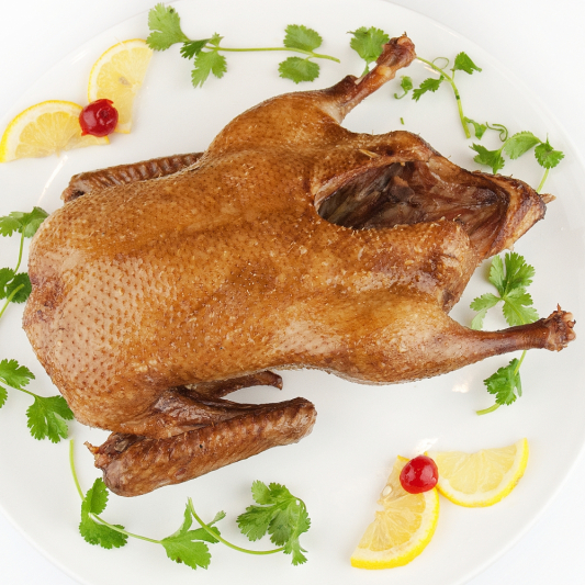 79. Whole Roasted Duck