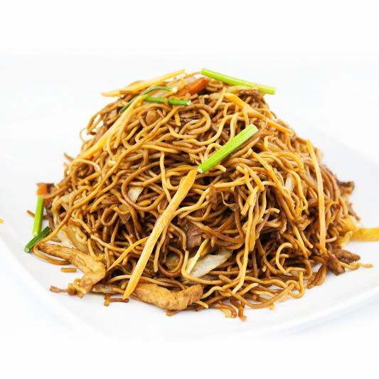 72. Chicken & Mushroom Chow Mein