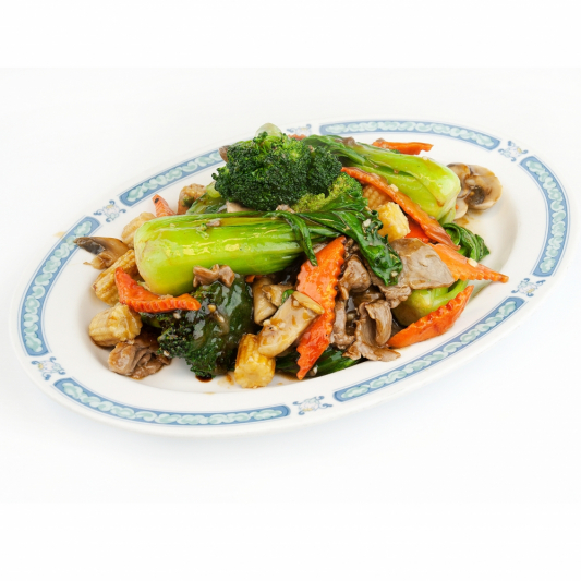 57. Sliced Beef Chop Suey