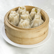 H11. Steamed Lamb Dumplings (10 pcs) 清真烧麦  (10个)