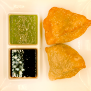 Vegetable Samosa (2pc)
