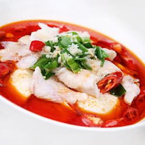 F18. Boiled Fish Fillet in Hot Pot 豆花鱼片锅
