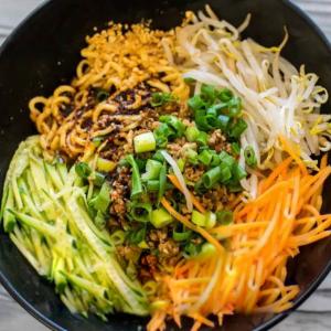3-6 Burning Noodles of Yibin ( Dry noodles)
