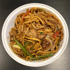 F3. Cumin Lamb Chow Mein