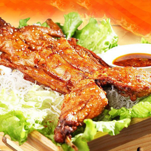 S8. Mongolian Style Roast Rabbit 蒙古烤兔肉