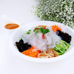 J12. Colourful Starch Noodle 五彩大拉皮