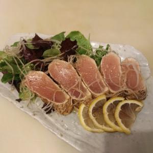 Garlic Tuna Tataki