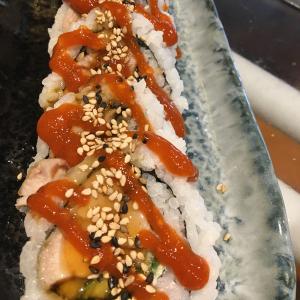Spicy Chicken Teriyaki Roll