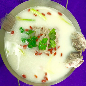 S6. Fish & Lamb Hot Pot 清真鱼羊一锅鲜