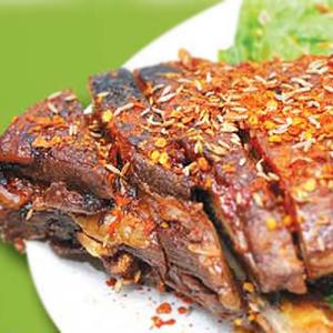 A05. BBQ Lamb Ribs 烤羊排