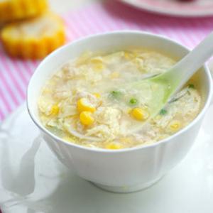 K15. Chicken Corn Soup 玉米鸡汤