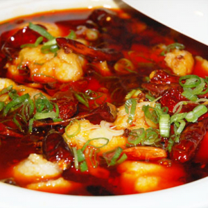 F10. Szechwan Style Fish Fillet with Chili Oil 泡椒鱼片