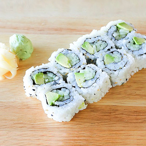 11.Avocado & Cucumber Roll