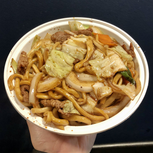 F7. Beef Chow Mein