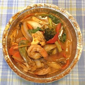 51. Goong Pad Nam Prik Pao