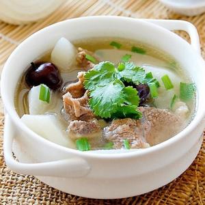 K08. Lamb Rib with Wintermelon in Soup 冬瓜羊排锅