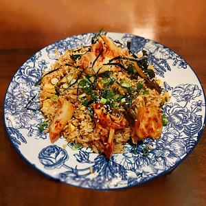 Vegan Kimchi Fried Rice
