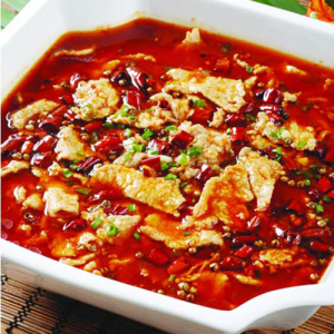A16. Boiled Spicy Lamb in Soup 沸腾羊肉