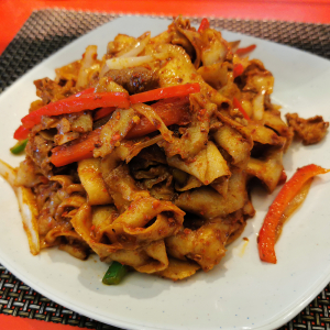 Cumin Lamb Chow Mein