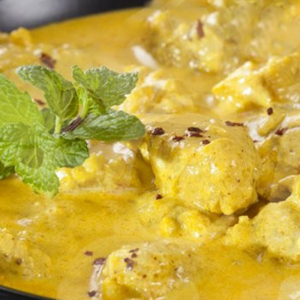 42. Chicken with Curry Sauce