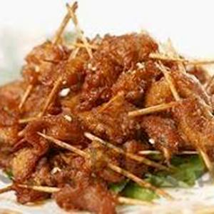 A20. Deep-Fried Lamb with Toothpicks 牙签羊肉