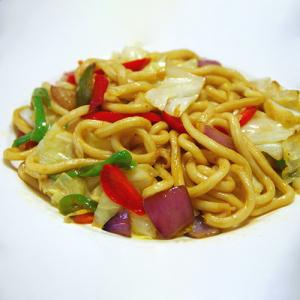 H27. Spicy Fried Noodle 麻辣炒面