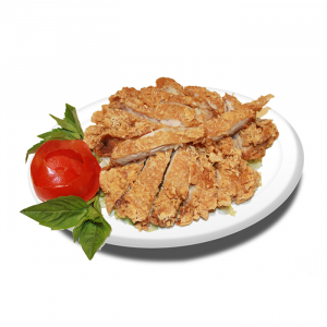 44. Crispy Chicken with Ginger Sauce