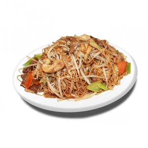 31. Delicious Noodles with Chicken and Beef