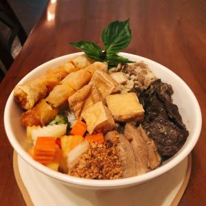 Vegan Loaded Noodle Bowl