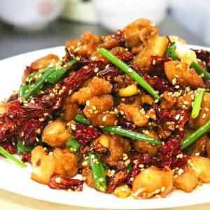 48. Peppering Chicken Szechuan Style