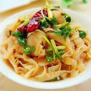 J08. Spicy Beef Omasum 红油牛百叶
