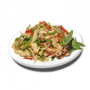 16. Thaï Style Chicken or Beef or Shrimp