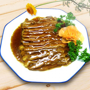 B14. Sliced Beef with Special Sauce 回民扒牛肉条